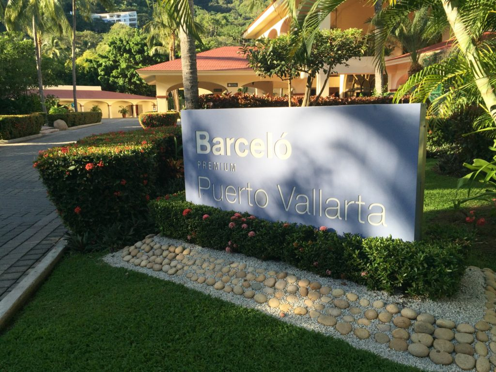 Barcelo Premium Puerto Vallarta all-inclusive resort is located on Mismaloya Beach with views of the Bay of Banderas, south of Puerto Vallarta. It also faces the Pacific Ocean.
