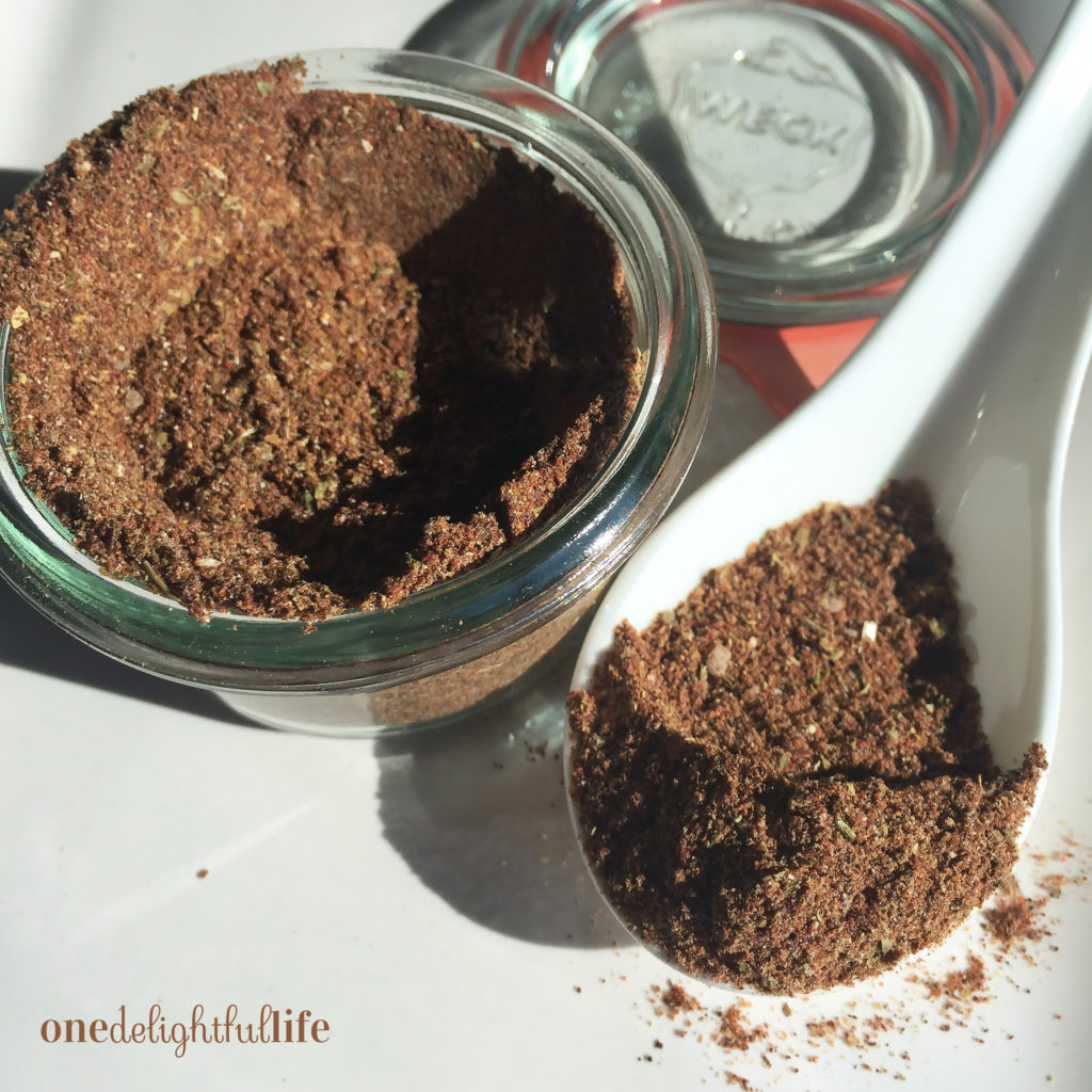 Easy Homemade Seasonings
