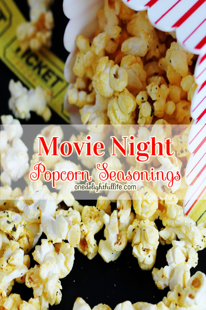 Movie Night Popcorn Seasonings