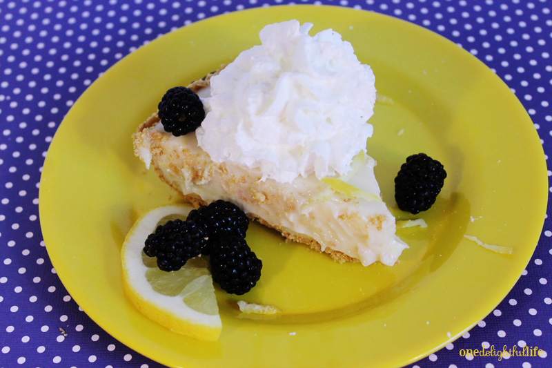 5 Minute Lemon Pie