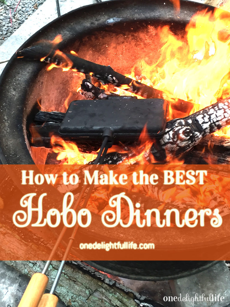 How To Make the BEST Hobo Dinners