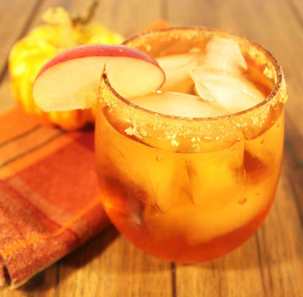 Pumpkin Spice and Everything Nice Apple Cocktail