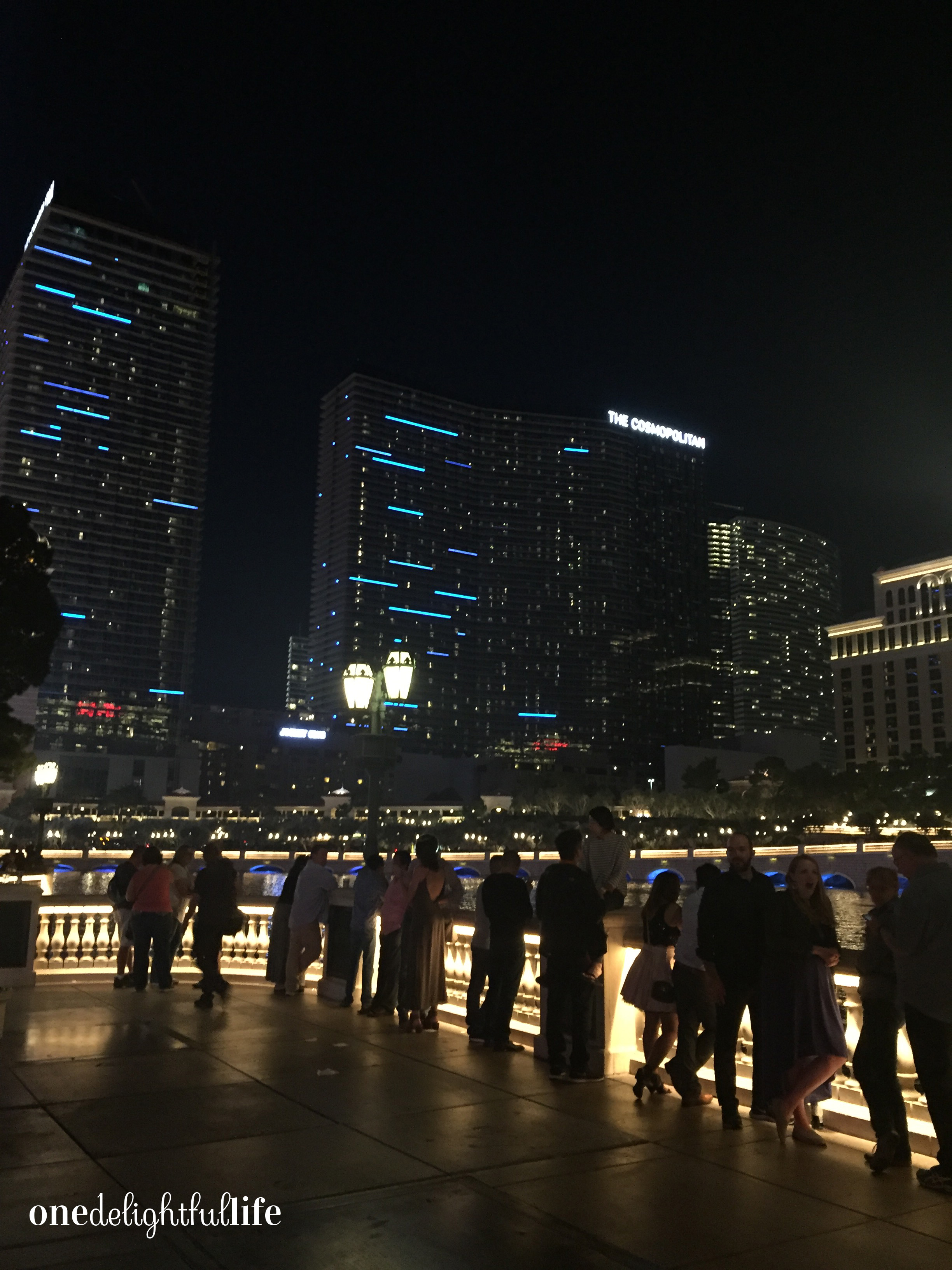 When the fountains come alive, so do the people watching them thanks to the dance-inspiring music that plays.