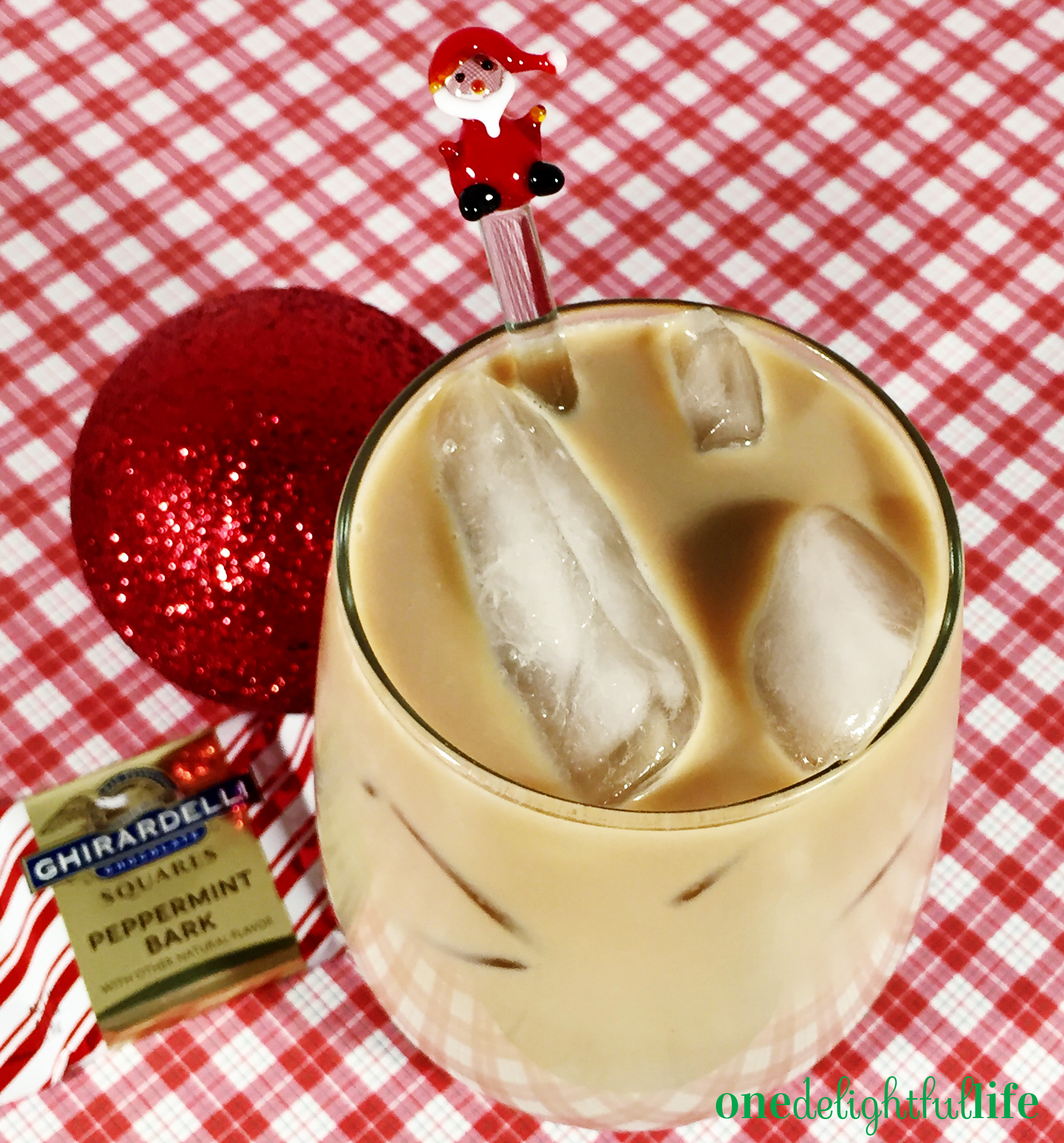 Smooth, velvety and with a touch of cinnamon, this cold coffee cocktail is ideal for parents who are up late on Christmas Eve.