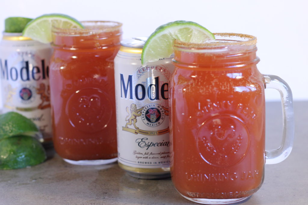 Michelada with Lime