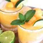 Cantaloupe Margaritas