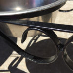 How to Rust Proof a Wrought Iron Raised Dog Dish Stand