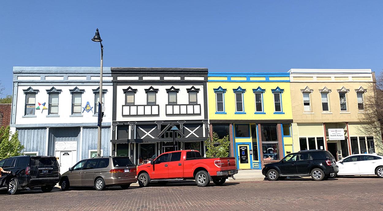 Lindsborg Kansas Main Street